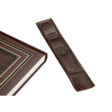 Leather Bookmark!<BR>Personalize and Customize this bookmark with logo for promotional item!